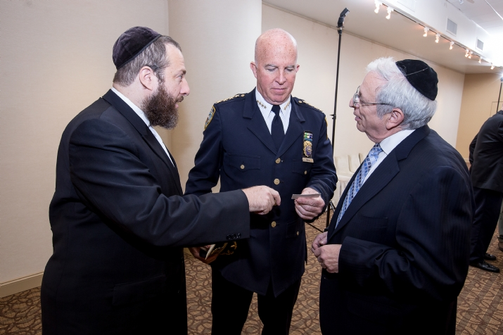 Ezra Friedlander, NYPD Chief of Department James O'Neill, Joseph B. Stamm, EzraFriedlander,JosephB.Stamm,JamesO'Neill, Joseph Potasnik, ezra friedlander