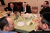 Republican presidential candidate Mitt Romney key Jewish advisor Tevi Troy spent shabbos with his family in Boro Park Brooklyn, 9/22/2012