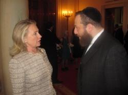 Secretary Hillary Clinton, Ezra Friedlander, EzraFriedlander