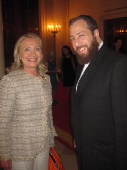 Secretary Hillary Clinton, EzraFriedlander