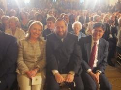 Secretary Hillary Clinton, Ezra Friedlander, Secretary Jack Lew, EzraFriedlander