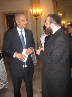 Attorney General Eric Holder, Ezra Friedlander, EzraFriedlander