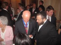 Former U.S. Senator and astronaut John Glenn, Ezra Friedlander, EzraFriedlander