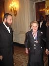 Ezra Friedlander, Madeleine Albright