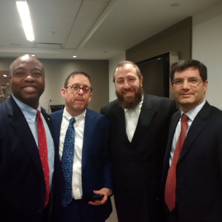 , TimScott,David Lichtenstein,Michael Wildes, , ezra friedlander
