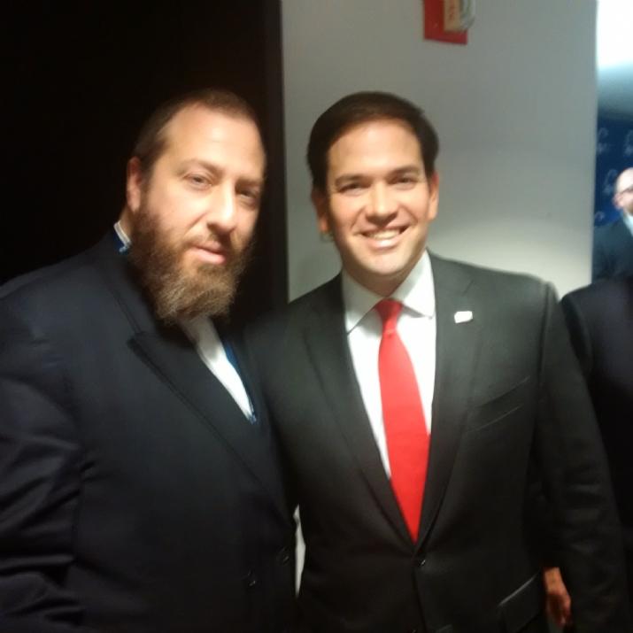 Ezra Friedlander, Marco Rubio, MarcoRubio, , ezra friedlander