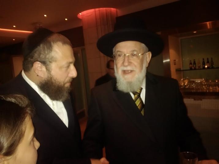 Rabbi Yisrael Meir Lau, Yisrael Meir Lau, , ezra friedlander
