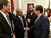 U.S. Representative Chris Stewart, Isaac Dabah, Ezra Friedlander, U.S. House Committee of Foreign Affairs Chair Ed Royce