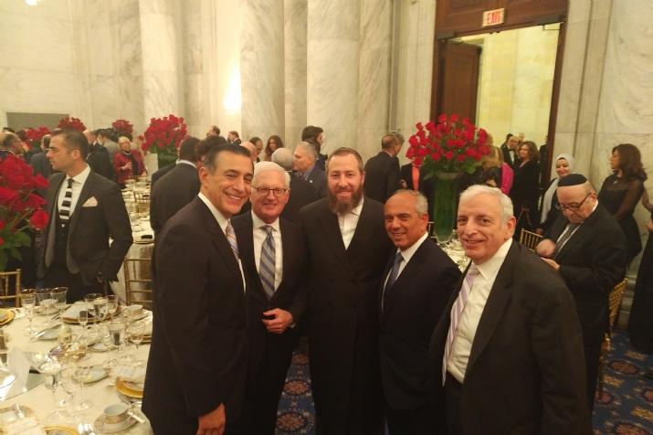 U.S. Representative Darrell Issa,AIPAC CEO Howard Kohr, Ezra Friedlander, Isaac Dabah, Joseph B. Stamm, , EzraFriedlander, ezra friedlander