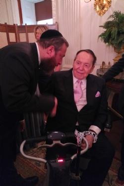 Ezra Friedlander, Sheldon Adelson, EzraFriedlander
