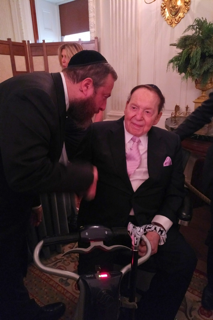 Ezra Friedlander, Sheldon Adelson, EzraFriedlander,Sheldon Adelson, Donald Trump, ezra friedlander