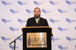 CEO Ezra Friedlander as Emcee for the Luncheon, EzraFriedlander