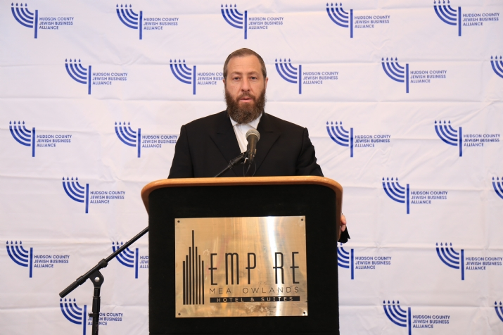 CEO Ezra Friedlander as Emcee for the Luncheon, EzraFriedlander, , ezra friedlander