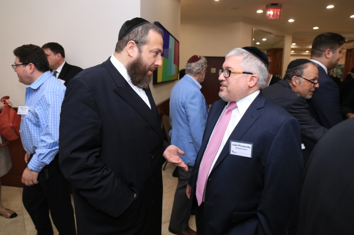 Ezra Friedlander with Josh Pruzansky (Orthodox Union), , , ezra friedlander