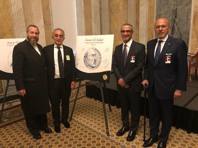 Ezra Friedlander, Henry Manoucheri, Gamal Sadat, Shafik Gabr, , , ezra friedlander