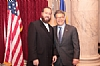 Ezra Friedlander and Senator Franken (D-MN)
