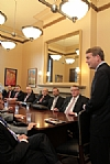 Senator Bennet meets with the Raoul Wallenberg Centennial Celebration Commission