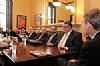 Board Members with Senator Michael Bennet at a private meeting in the Senator's office