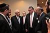 (L-R) Leon Goldenberg, Andrew Friedman, Senator Lautenberg (D-NJ), Stanley Trietel, Peter Rebemwurzel, Emil Fish