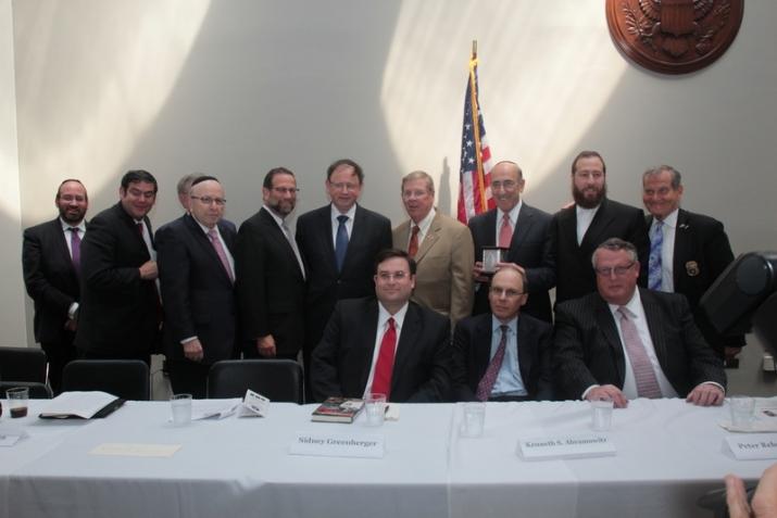 With Senator Johnny Isakson, , , ezra friedlander