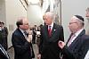 (L-R) Ken Abramowitz, Senator Lautenberg (D-NJ), Stanley Treitel