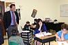 Councilman Brad Lander visits Shema Kolainu,