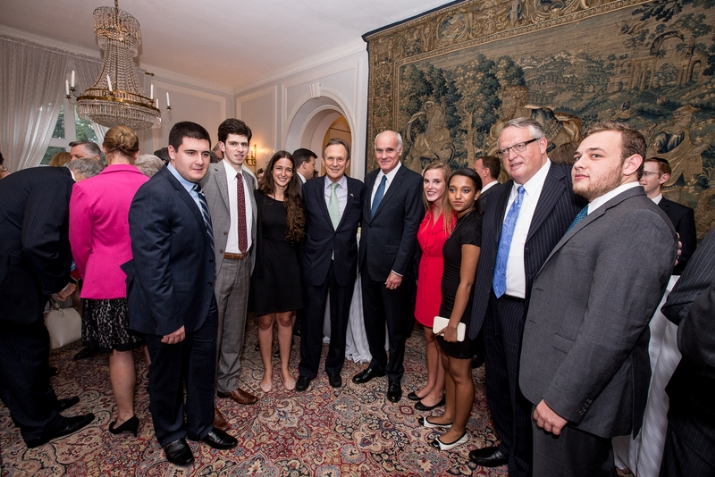 The Friedlander Group Crew with Honorable Gyorgy Szapary Ambassador of Hungary to US, , , ezra friedlander