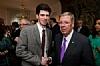 Alex Wenig with US Senator Johnny Isakson at the Swedish Embassy Reception