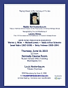 U.S. Commission for the Preservation of America's Heritage Abroad - 30th Anniversary Tribute, 6/18/2015