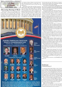 The Jewish Press - May 6, 2016, Washington DC