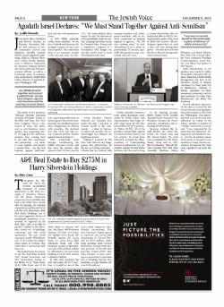 Jewish Voice - December 9, 2016, RandyWeber