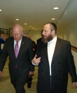 U.S. Senator Patrick Leahy, Ezra Friedlander, EzraFriedlander