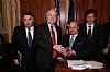 Hassan Ali Bin Ali with US Senator John McCain