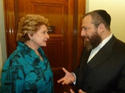 U.S. Senator Debbie Stabenow, Ezra Friedlander, EzraFriedlander