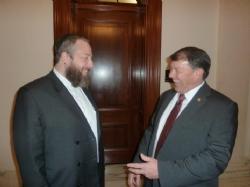 Ezra Friedlander, U.S. Senator Mike Rounds, EzraFriedlander