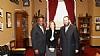 Representative Nan Hayworth, Representative Gregory Meeks, Ezra Friedlander