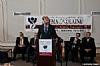 Dr. Joshua Weinstein, Menachem Lubinksy, Bronx Borough President Ruben Diaz Jr., NYC Councilmember Kalman Yeger, Ezra Friedlander
