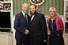 Ezra Freidlander with Joe and Jill Biden at the reception – Photo: WH photographer