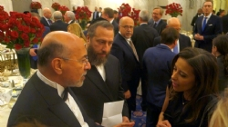 Shafik Gabr, Ezra Friedlander, Deputy National Security Advisor Dina Habib Powell, EzraFriedlander