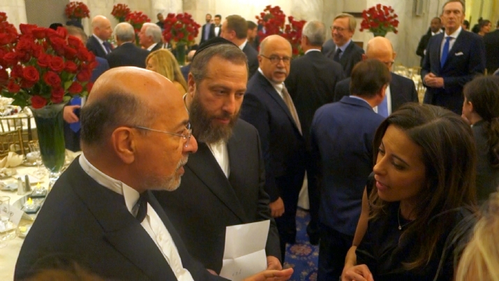 Shafik Gabr, Ezra Friedlander, Deputy National Security Advisor Dina Habib Powell, EzraFriedlander,DinaHabibPowell,ShafikGabr, EzraFriedlander, ezra friedlander