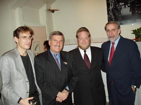 Joe Sprung, Councilman Weprin, Mayor Pindrus Assemblyman Hikind, , , ezra friedlander