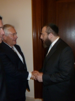 Secretary of State Designee Rex Tillerson, Ezra Friedlander, EzraFriedlander