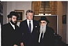Rabbi Abraham Friedlander, Senator Edward M. (Ted) Kennedy, Rabbi Zvi Kestebaum