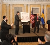 Unveiling of the Wallenberg Gold Medal Design, 5/9/2013