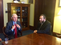 US Senator Jeff Sessions, Ezra Friedlander, Jeff Sessions