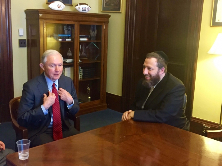 US Senator Jeff Sessions, Ezra Friedlander, Jeff Sessions, Donald Trump, ezra friedlander